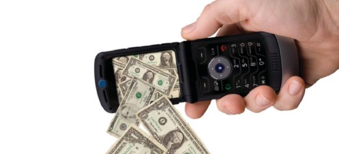 За что могут снимать деньги в МТС