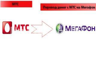 Перевод средств с МТС на Мегафон на телефон: доступные способы