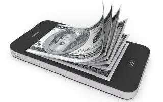 Порядок пополнения WebMoney с телефона