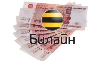 Вывод средств с Билайна на карту Сбербанка: доступные способы
