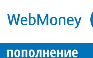 Пополнение денег на кошелек Вебмани: доступные способы