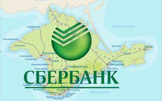 Способы снятия денег с карты Сбербанка в Крыму