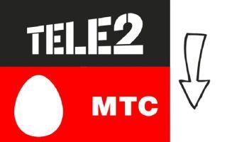 Порядок перевода средств с телефона на телефон с Теле2 на МТС