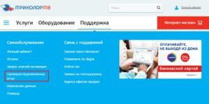 Интерактивная помощь официального сайта
