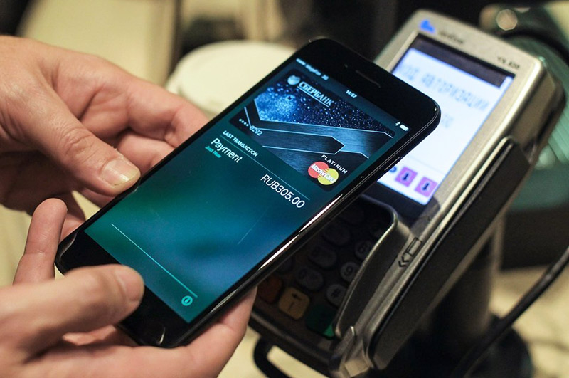 20cd7fd94689a Программа Apple Pay работает на последних версиях iPhone (6, 6s и т.д.). Во  всех этих телефонах есть чип NFC, позволяющий осуществлять оплату.