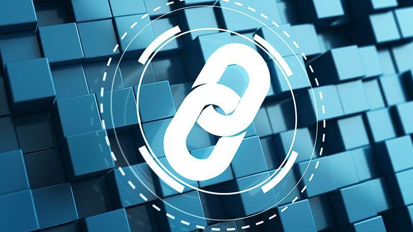 Блокчейн логотип