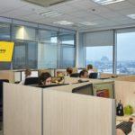 В офисе компании