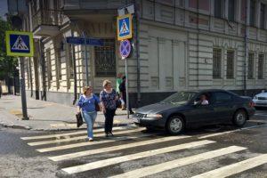 За что могут оштрафовать пешехода