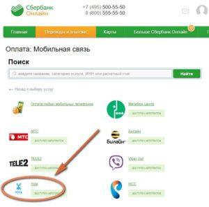 Инструкция оплаты услуг от Йота через Сбербанк Онлайн