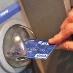 Использование банкомата или терминала