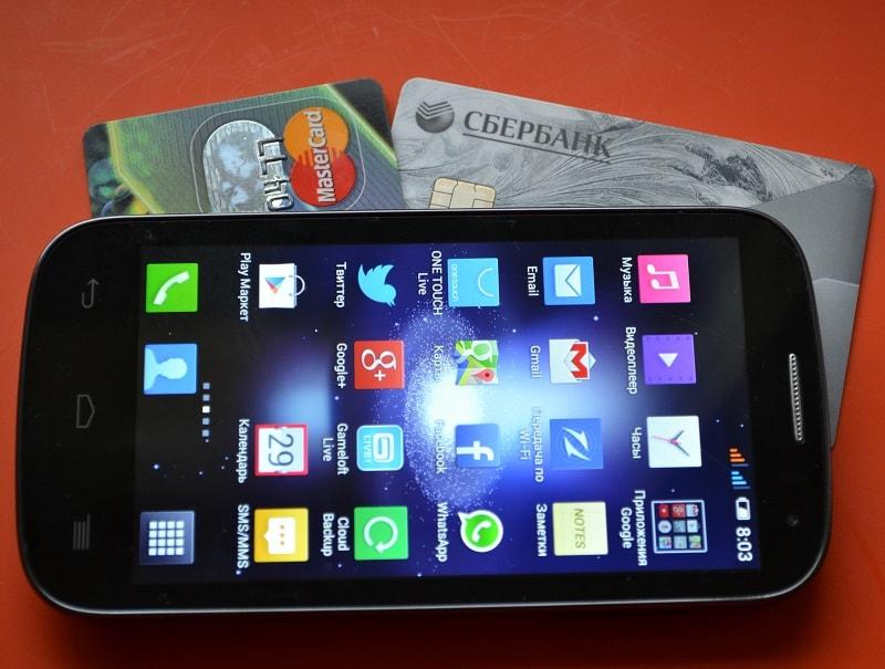 Как можно оплатить сотовый телефон с карты Сбербанка через телефон