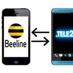 Порядок перевода денег с Теле2 на Билайн через телефон