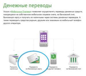 Как перевести деньги с Мегафона на карту