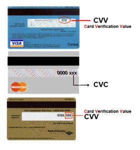 Код CVV