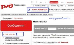 Премиальный билет РЖД