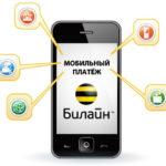 Управление услугой «Мобильный платеж» от Билайн