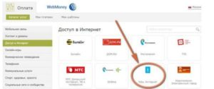 Через электронные платежные системы